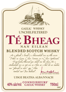 Te Bheag Front Label